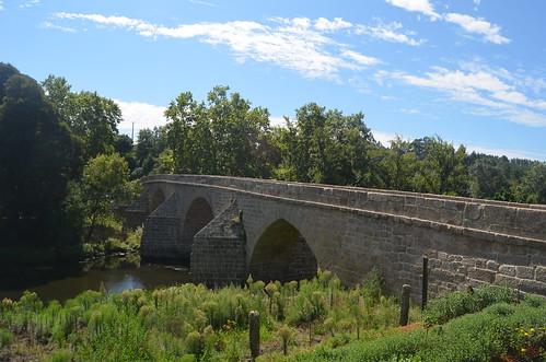 Study on a medieval bridge XIX