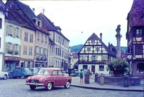 Molsheim, Bas-Rhin, France 1963