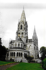 Cork [IRL], 1997, Cork, St Finbarrs Anglican Cathedral.
