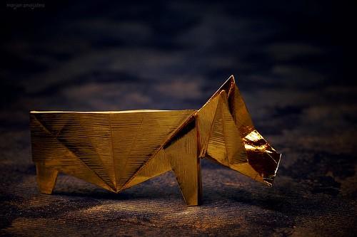 Origami Hippopotamus (James Sakoda)