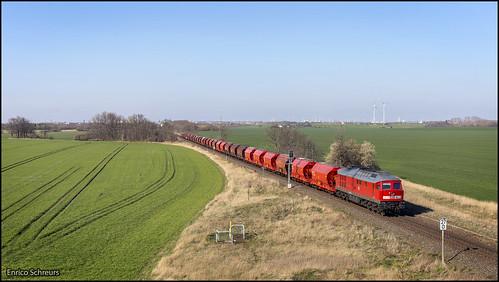 24 maart 2020 - DB Cargo 232 452 - Güsten