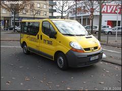 Renaut Trafic – STRAN (Société des TRansports de l'Agglomération Nazairienne) n°600
