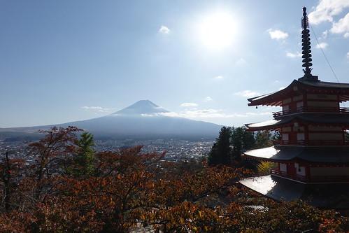Chureito Pagoda (Arakurayama Sengen Park)/新倉山 浅間公園 忠霊塔