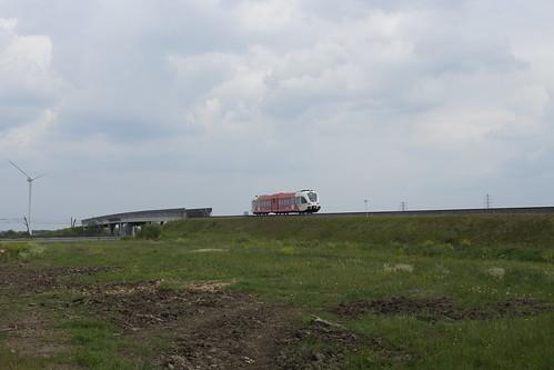 Arriva Spurt 255 Harm Edens bij IJzendoorn op weg naar Tiel 03-05-2020