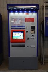 Léman Express ticket vending machine @ Gare de Lancy-Pont-Rouge @ Lancy