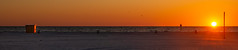 Clearwater Beach Sunset during a pandemic