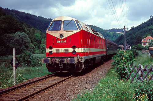 DR 219 152 Hüttengrund 29.05.1993