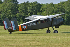 Max Holste MH.1521M Broussard '240 / 330-IN' (F-BNDD) - Photo of Boissy-sous-Saint-Yon
