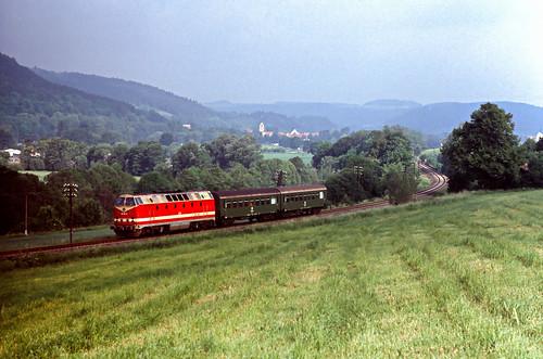 DR 219 152 Grimmelshausen 29.05.1993