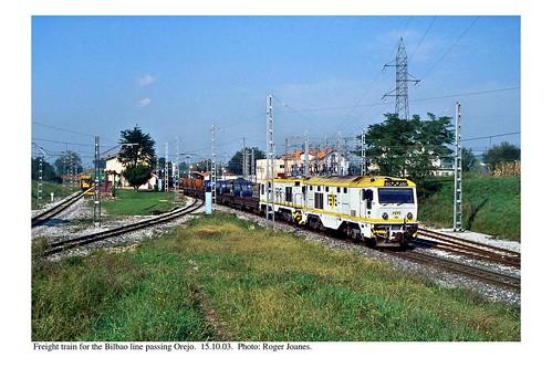 Orejo. Freight train. 15.10.03