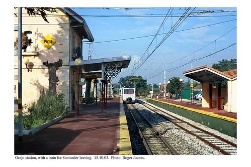 Orejo station. 15.10.03