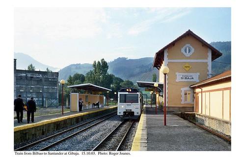 Gibaja. Train for Santander. 15.10.03