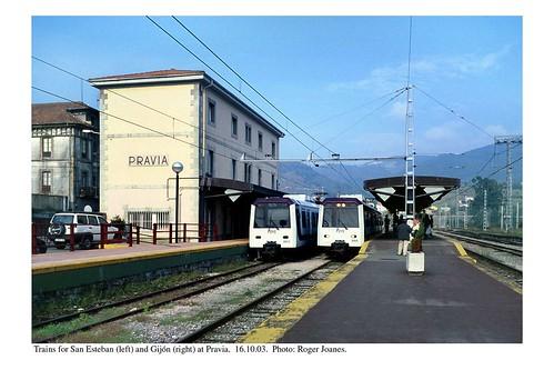 Pravia station. 16.10.03