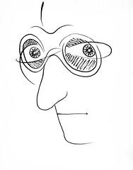 Self Portrait [Autoretrato] (Undated) - José Almada Negreiros (1893-1970)