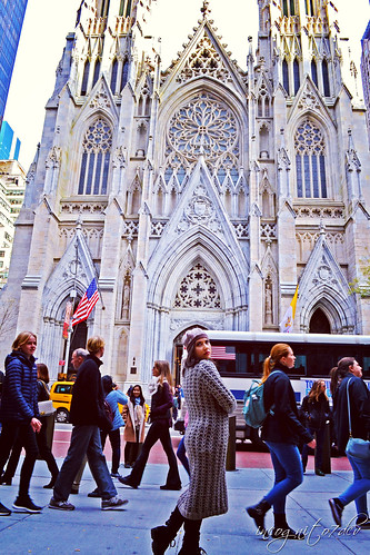 At St. Patrick's Cathedral 5th Ave Midtown Manhattan New York City NY P00517 DSC_1065