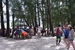 A lot of people already about at Ko Mai Pai island