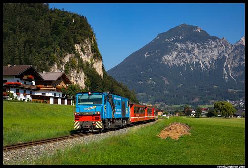 Zillertalbahn D16, Schlitters 31-07-2018