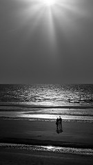 Bord de mer, Plage de Malo-les-Bains, Dunkerque