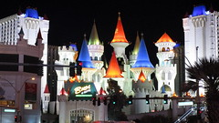 Nevada - Las Vegas: EXCALIBUR - named for the mythical sword of King Arthur ==> This is the Vegas casino with medieval flair