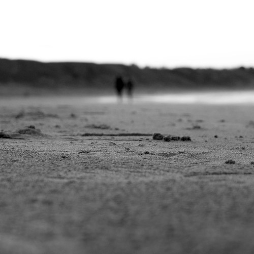 Where the horizon melts