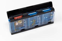 Der Zelda Pop & Lock Spielekartenhalter von Hori bietet Platz für bis zu sechs Nintendo Switch Spiele und hat einen einzigartigen Pop & Lock-Mechanismus