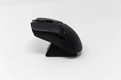 The Razer Viper Ultimate wireless gaming mouse on a white background