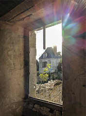 Visiting a restoring Château - Photo of Occagnes