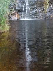 Adelaide. Reflections below the falls at Waterfall Gully 2 May 2020.