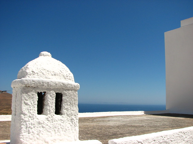 White and blue of Serifos Island - Greece