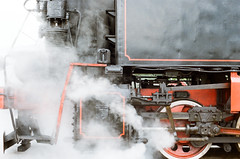 Steam locomotive industrial 9П