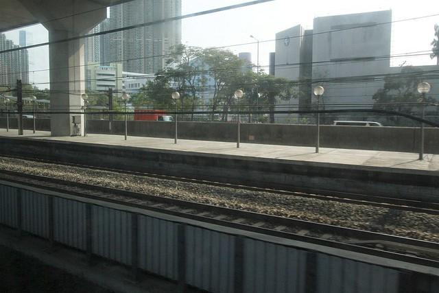 Airport Express emergency platform at Nam Cheong station