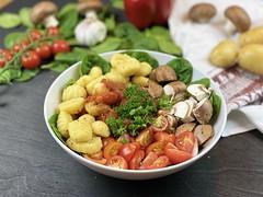 Healthy Gnocchi Buddha Bowl