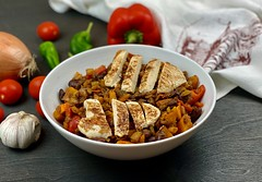 Healthy Chili with Chicken and Pumpkin