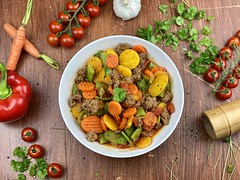 Healthy Vegetable Bowl