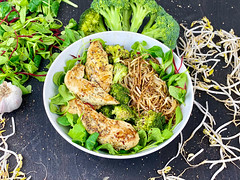 Asian Chicken with Broccoli