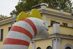 Sock monster @ WOW Spazio Fumetto @ Milan