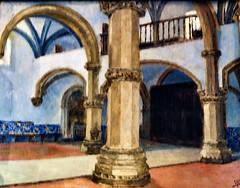 Church Interior [Italy] (1877) - Silva Porto (1850-1893)
