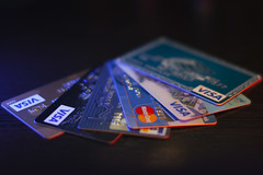 Bunch of credit cards