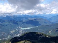 Green Lake from Whistler Peak
