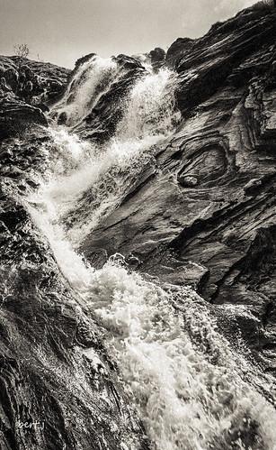 Waterfall, Allt Uisg'a Bhrisdidh