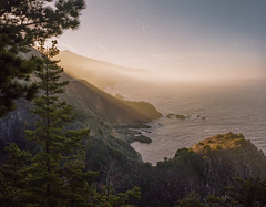 Big Sur.  Mamiya 7ii / Portra 400