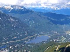 Alta Lake from Whistler Peak