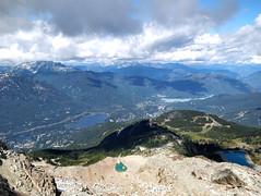 Whistler Valley from Whistler Peak