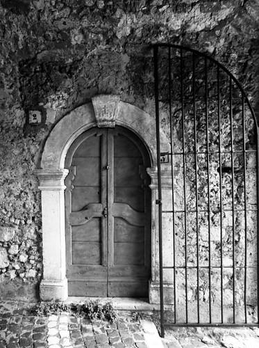 Door of Civita D'Antino