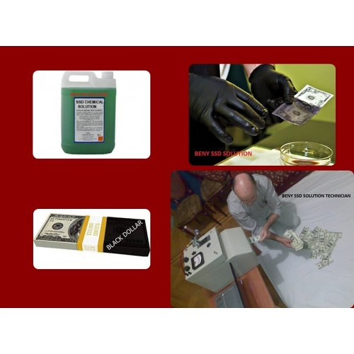 BLACK DOLLARS CLEANING SSD SOLUTION CHEMICAL