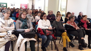 2018 Diciembre. Conferencia sobre la deportación de españoles a los campos de concentración nazis. Marín (Pontevedra)