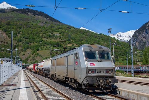 FRET SNCF à Bourg Saint Maurice