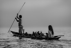 Pirogue on the Napo river