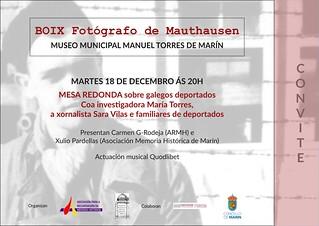 Conferencia sobre la deportación de españoles a los campos de concentración nazis