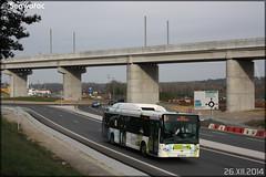Heuliez Bus GX 327 GNV – RTP (Régie des Transports Poitevins) / Vitalis n°603